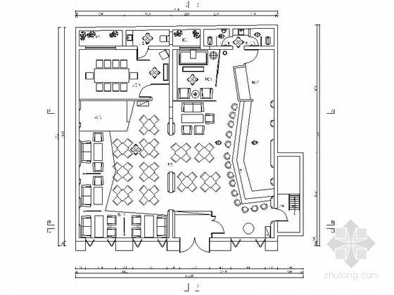 [烟台]欧洲新古典风格西餐酒吧室内装修图(含效果)