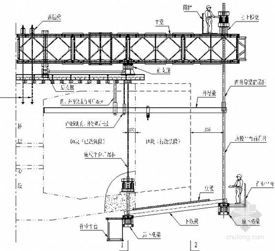 高速铁路特大桥连续梁施工方案(挂篮 支架设置 静载试验)