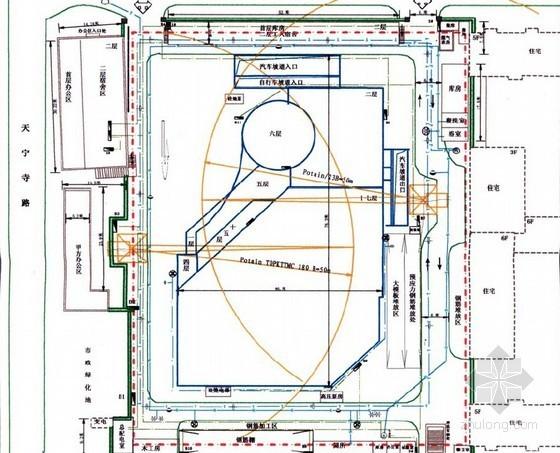 [北京]框剪结构高层资料馆工程施工组织设计(基础、主体、装饰装修)