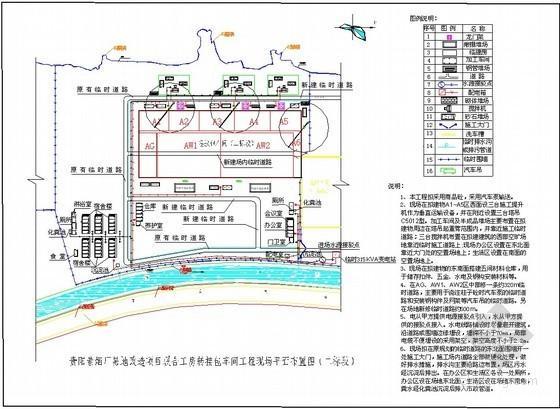 [贵州]卷烟厂单层网架结构车间、门式钢结构仓库施工组织设计(321页,附图较多)