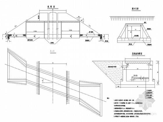 高速公路钢筋混凝土盖板涵通用图设计53张