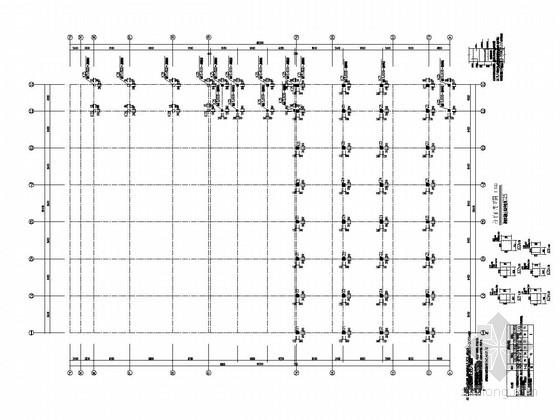 [湖南]原五层框架结构教学楼改造加建结构施工图