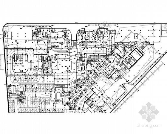 [广东]超高层办公楼暖通空调及通风排烟系统设计施工图(甲级资质)