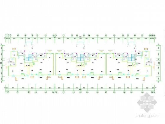 [山东]多层居住建筑采暖通风系统设计施工图