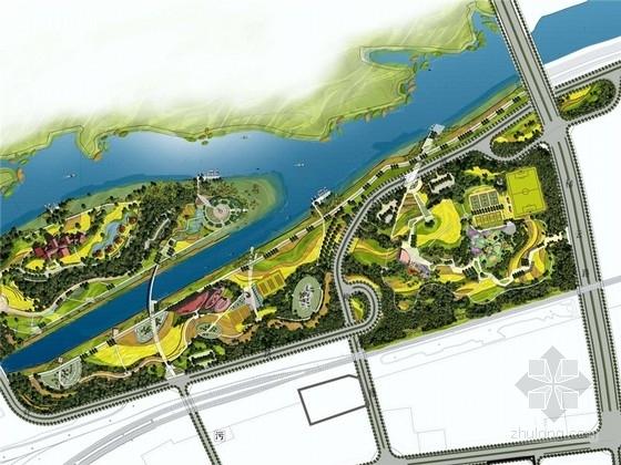 [天津]杨柳青自然生态公园景观设计方案