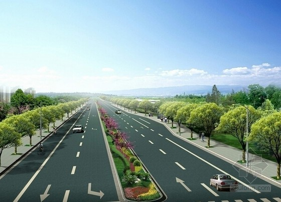[广州]城市道路延长建设工程造价指标分析