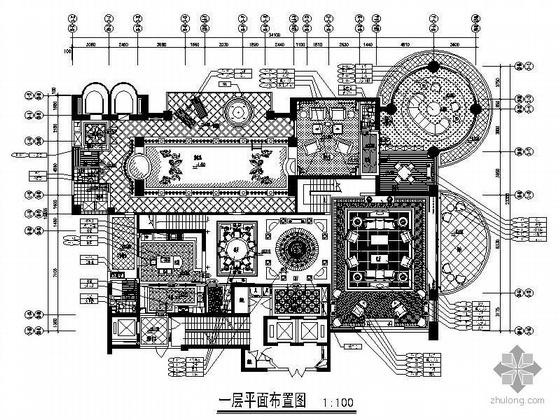 [上海]新豪华欧式古典样板房装修图(含效果)