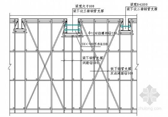 [广东]多层框架结构教学楼工程质量计划书(编制详细)