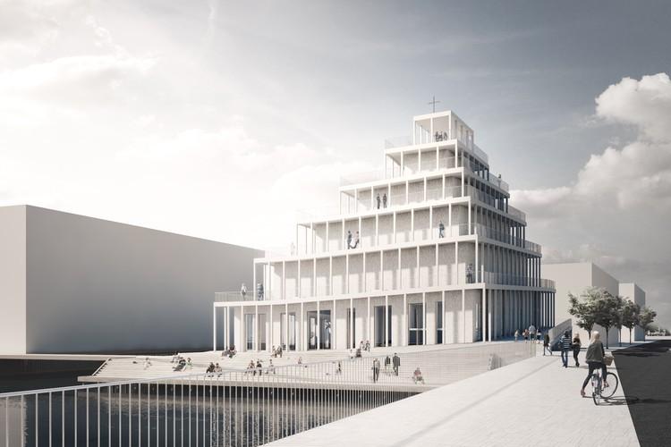 哥本哈根近三十年首个新教堂设计竞赛获奖作品公布