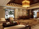 中式书画室3D模型下载