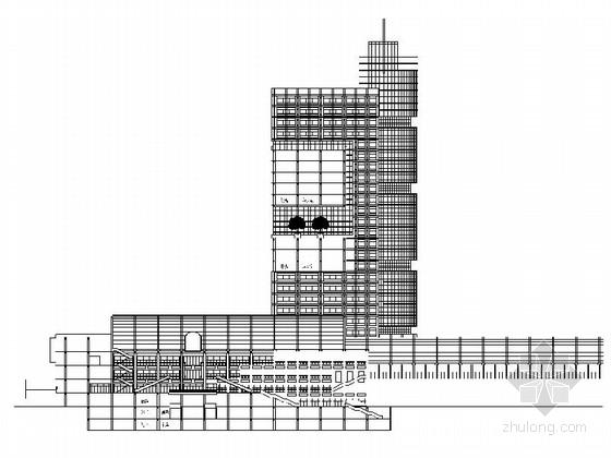 [毕业设计]大型现代风格超高层商业单体建筑设计施工图