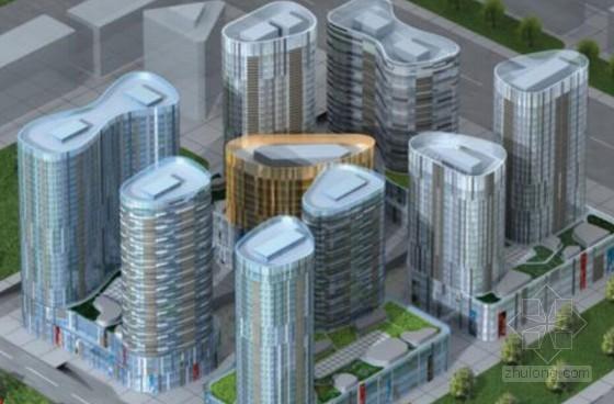[北京]高层筒体结构商住楼工程施工组织设计(173页 长城杯工程 附图较多)