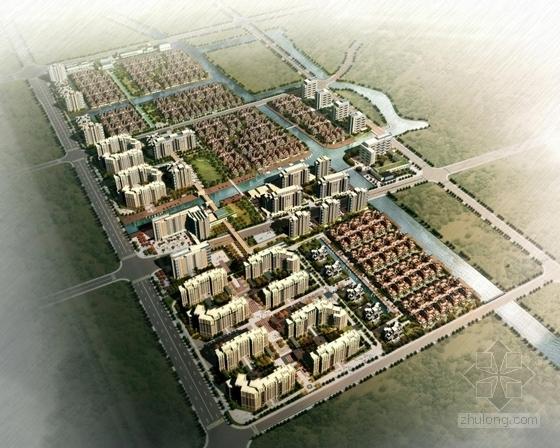 [上海]高层现代风格多样式点式住宅建筑设计方案文本
