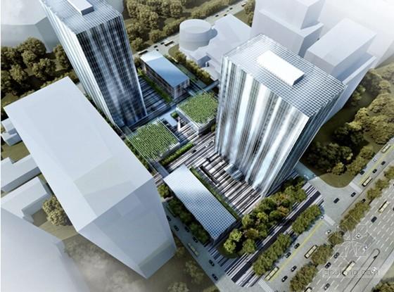 [上海]高层混合框架钢筋混凝土结构商务办公中心项目施工管理汇报PPT