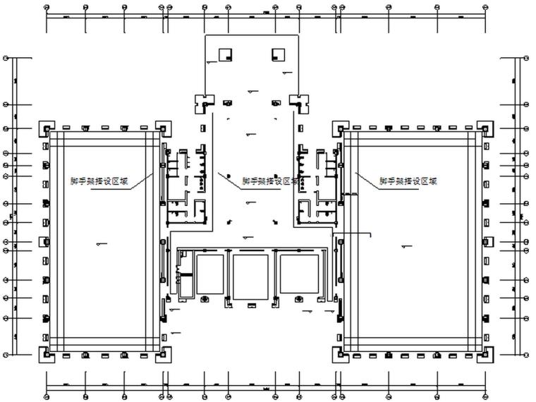 敦煌国际酒店室内脚手架施工方案
