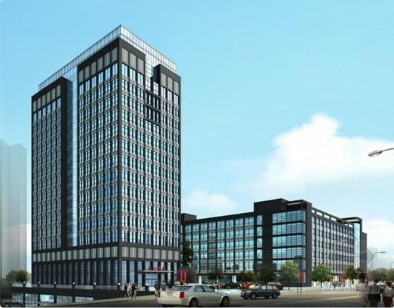 商务大厦建筑工程分部分项工程量清单计价表