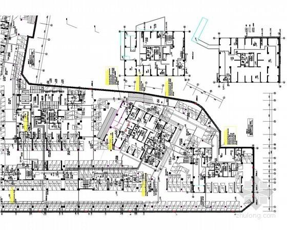 20kv配电所设计资料下载-[大理]住宅商业区地下室项目强弱电施工图58张(新火规 车库 设备房)
