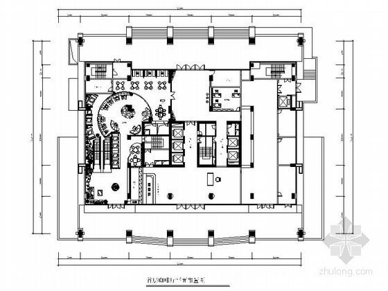 深圳四星酒店装修设计平面图