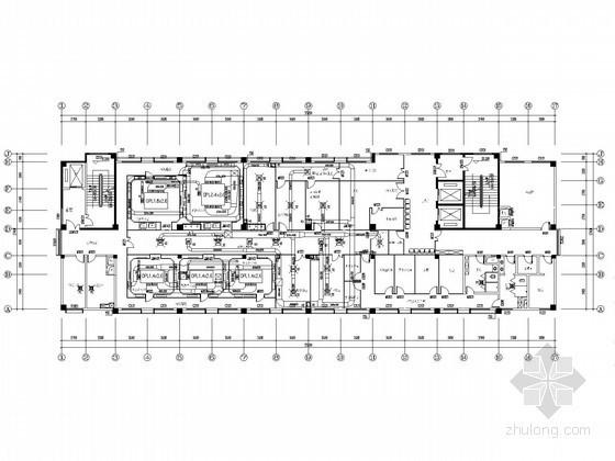 [贵州]洁净手术室全套设计施工图(含装饰、电气、医用气体设计)
