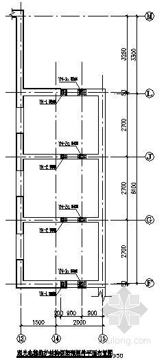 某观光电梯玻璃幕墙钢结构施工图