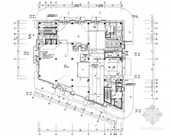 [上海]商业多功能综合楼强弱电施工图(商业 办公 舞蹈 球类等)