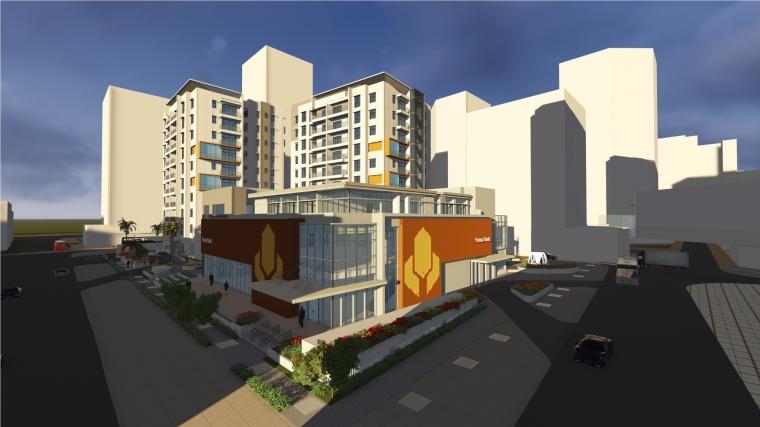 缅甸KrisPlaza项目-lumion制作效果图-缅甸Kris Plaza项目第1张图片