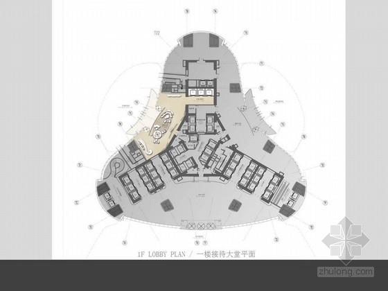 [武汉]现代风格中心公寓公共区域和样板房设计方案