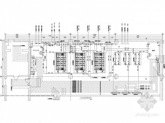 某小区换热站全套设计施工图纸(完整)