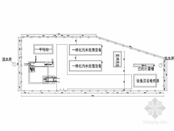 [四川]黑臭河渠综合治理污水处理设施工程施工图