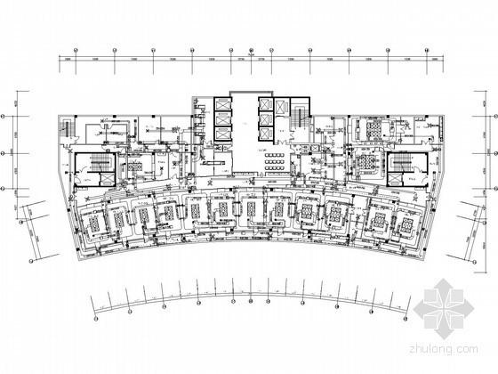 医院外科病房楼净化空调系统设计施工图