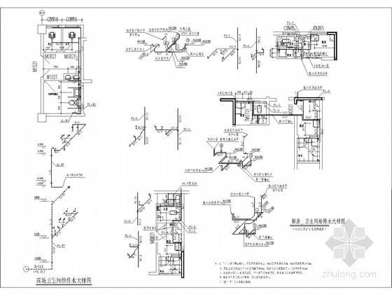 [贵州]高层商业住宅楼给排水及消防施工图设计