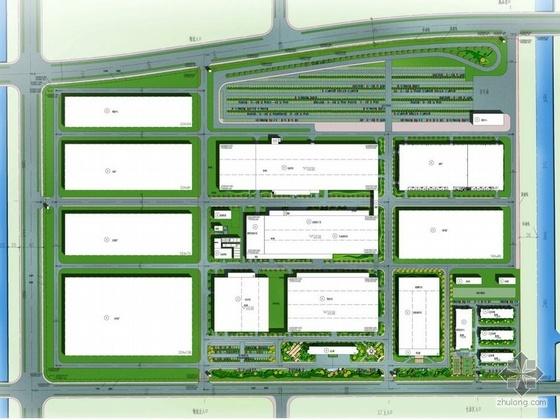 杭州汽车公司景观规划设计