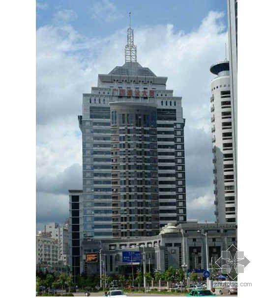 广西某高层综合楼创鲁班奖汇报材料(PPT 2008年)