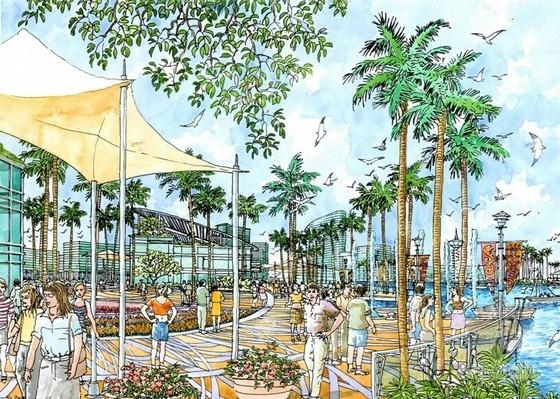 国际温泉度假区概念性规划设计效果图
