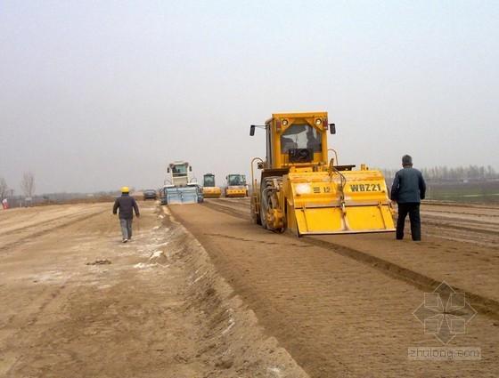 石灰稳定土施工方法