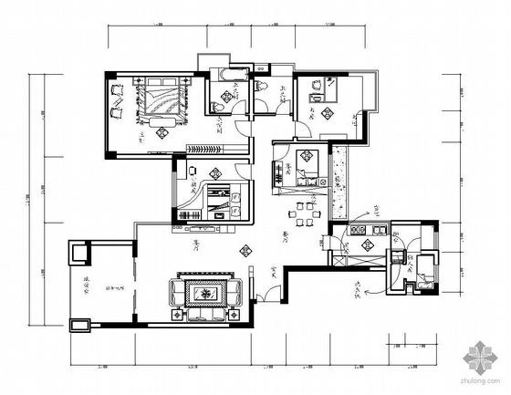 某五室两厅装修图
