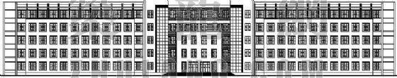 河北某高等院校主教学楼(南楼)建筑设计方案