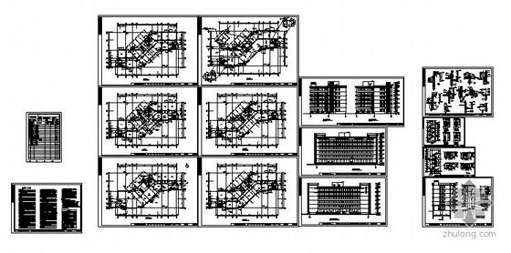 [温州]某知名集团办公楼建筑结构施工图-2