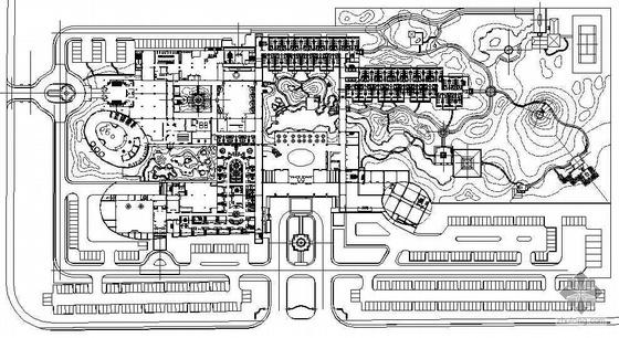 [北京]某会馆环境景观施工图设计