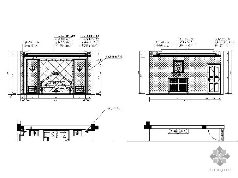 经典五层别墅样板房装修施工图_3
