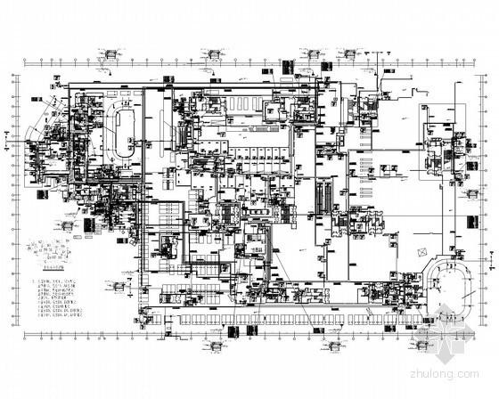 [宁波]大型知名城市综合体全套电气施工图纸360张(含塔楼 机房工程 30万平)