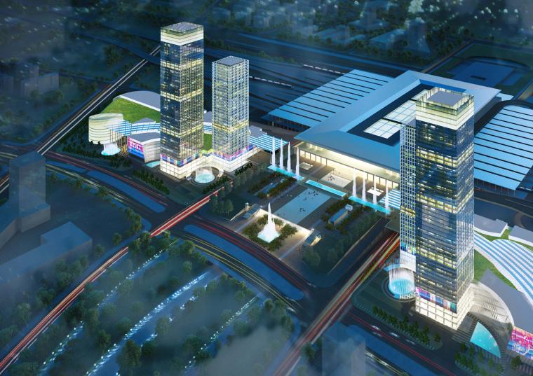 双地块现代城市综合体塔楼与场地规划设计方案文本(PDF)