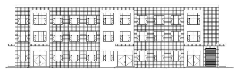 VR实验室平面图资料下载-[宁夏]三层框架结构工程实验室建筑施工图(含水暖电)