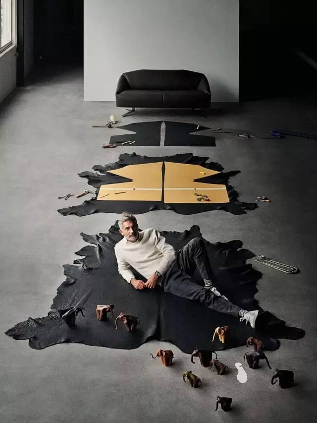 他设计的每样东西都和别人不一样,连活动房的样板间都完胜大别墅