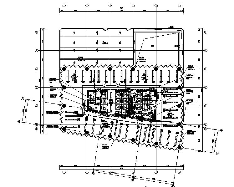 深圳万科商业综合体暖通设计施工图