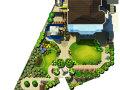 重庆冠领园林私家花园庭院设计:保利花园