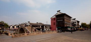 无锡清名桥南长街历史文化街区景观