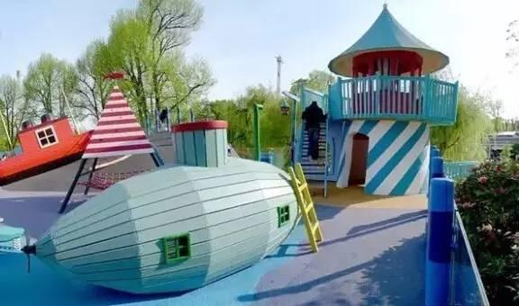 户外儿童游乐场意向图50例