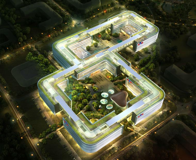 [北京]知名网络公司办公总部建筑施工图(修改图纸)_13