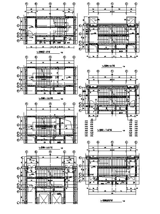 [河南]26层塔式住宅建筑施工图(16年全专业图纸)_11